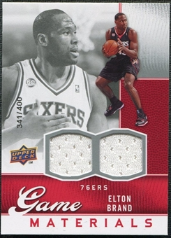 2009/10 Upper Deck Game Materials #GJEB Elton Brand /400