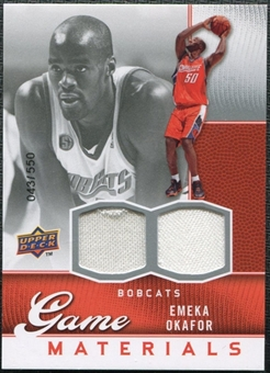 2009/10 Upper Deck Game Materials #GJEO Emeka Okafor /550