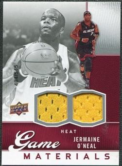 2009/10 Upper Deck Game Materials #GJJO Jermaine O'Neal /545
