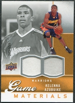 2009/10 Upper Deck Game Materials #GJKA Kelenna Azubuike /550