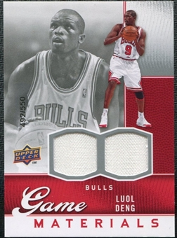 2009/10 Upper Deck Game Materials #GJAS Luol Deng /550