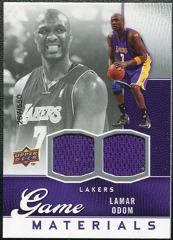 2009/10 Upper Deck Game Materials #GJLO Lamar Odom /550