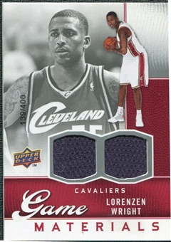 2009/10 Upper Deck Game Materials #GJLW Lorenzen Wright /400