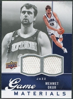 2009/10 Upper Deck Game Materials #GJMO Mehmet Okur /400