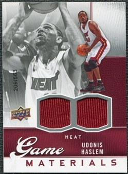 2009/10 Upper Deck Game Materials #GJUH Udonis Haslem /563
