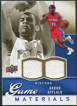2009/10 Upper Deck Game Materials Gold #GJAA Arron Afflalo /150