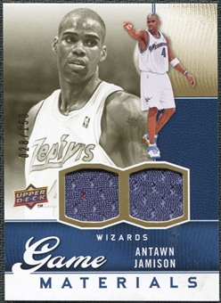 2009/10 Upper Deck Game Materials Gold #GJAJ Antawn Jamison /150
