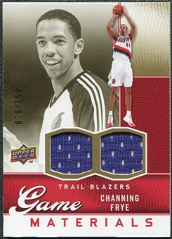 2009/10 Upper Deck Game Materials Gold #GJCF Channing Frye /150