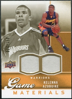 2009/10 Upper Deck Game Materials Gold #GJKA Kelenna Azubuike /150