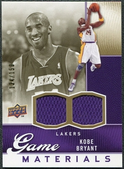 2009/10 Upper Deck Game Materials Gold #GJKO Kobe Bryant /150