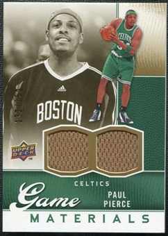 2009/10 Upper Deck Game Materials Gold #GJPP Paul Pierce /150