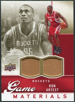 2009/10 Upper Deck Game Materials Gold #GJRA Ron Artest /150