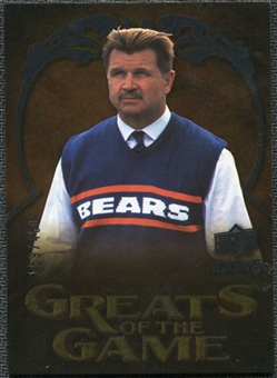 2009 Upper Deck Icons Greats of the Game Gold 199 #GGMD Mike Ditka /199