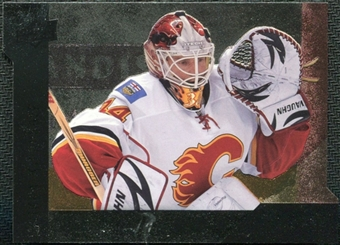 2009/10 Upper Deck Black Diamond Horizontal Perimeter Die-Cut #BD7 Miikka Kiprusoff