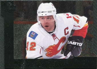 2009/10 Upper Deck Black Diamond Horizontal Perimeter Die-Cut #BD13 Jarome Iginla