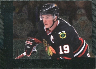 2009/10 Upper Deck Black Diamond Horizontal Perimeter Die-Cut #BD16 Jonathan Toews