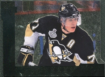 2009/10 Upper Deck Black Diamond Horizontal Perimeter Die-Cut #BD18 Evgeni Malkin
