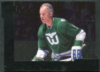 2009/10 Upper Deck Black Diamond Horizontal Perimeter Die-Cut #BD29 Gordie Howe SP