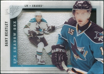 2009/10 Upper Deck SPx Shadowbox #SH12 Dany Heatley