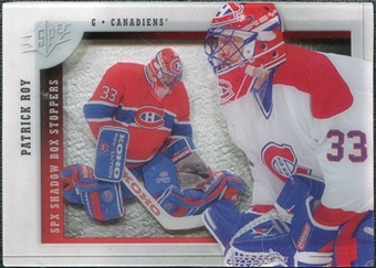 2009/10 Upper Deck SPx Shadowbox Stoppers #ST2 Patrick Roy