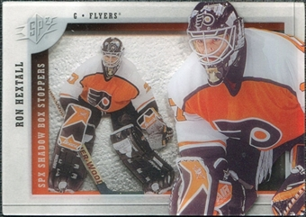 2009/10 Upper Deck SPx Shadowbox Stoppers #ST11 Ron Hextall