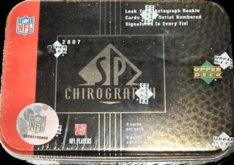 2007 Upper Deck SP Chirography Football Hobby Box