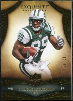2009 Upper Deck Exquisite Collection #55 Jerricho Cotchery /80