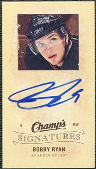 2009/10 Upper Deck Champ's Signatures #CSRY Bobby Ryan Autograph