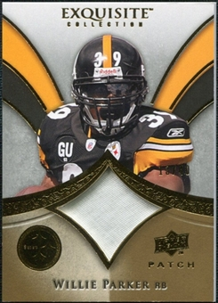 2009 Upper Deck Exquisite Collection Patch Gold #PWI Willie Parker /40