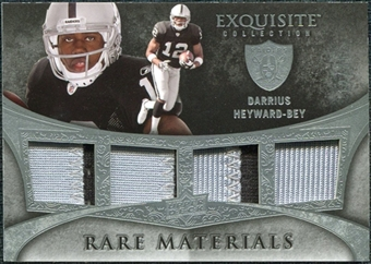 2009 Upper Deck Exquisite Collection Rare Materials #4DH Darrius Heyward-Bey /35