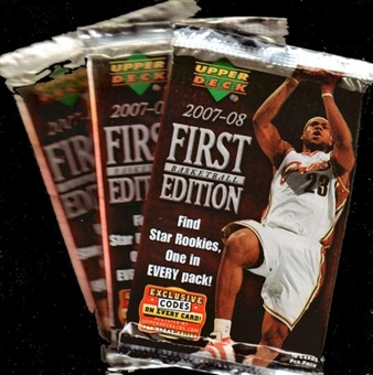 2007/08 Upper Deck First Edition Basketball Pack