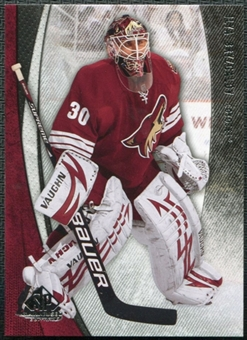 2010/11 Upper Deck SP Game Used #76 Ilya Bryzgalov