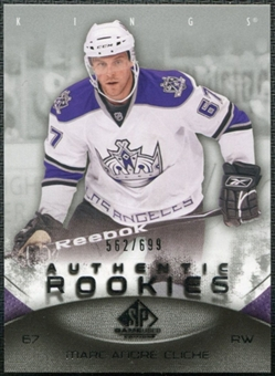 2010/11 Upper Deck SP Game Used #117 Marc-Andre Cliche /699