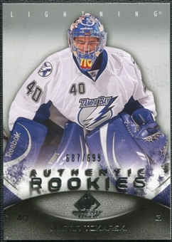 2010/11 Upper Deck SP Game Used #142 Dustin Tokarski RC /699