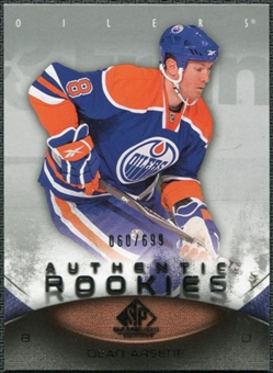 2010/11 Upper Deck SP Game Used #168 Dean Arsene /699