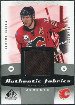 2010/11 Upper Deck SP Game Used Authentic Fabrics #AFJI Jarome Iginla