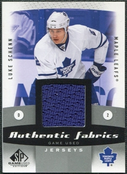 2010/11 Upper Deck SP Game Used Authentic Fabrics #AFLS Luke Schenn