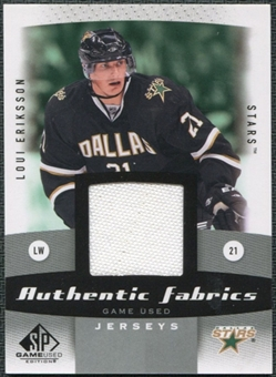 2010/11 Upper Deck SP Game Used Authentic Fabrics #AFLU Loui Eriksson