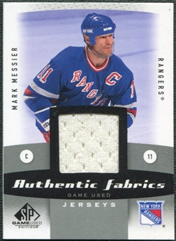 2010/11 Upper Deck SP Game Used Authentic Fabrics #AFMM Mark Messier