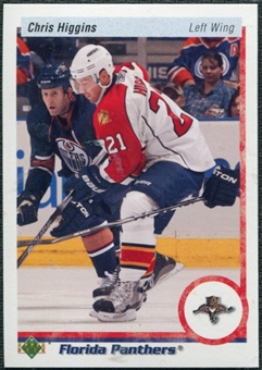 2010/11 Upper Deck 20th Anniversary Parallel #334 Chris Higgins