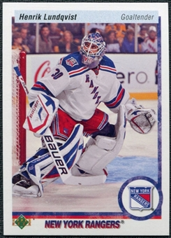 2010/11 Upper Deck 20th Anniversary Parallel #380 Henrik Lundqvist