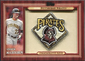 2011 Topps Commemorative Patch #AM Andrew McCutchen S2