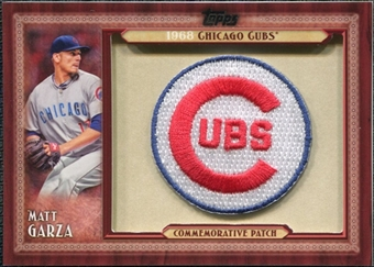 2011 Topps Commemorative Patch #MG Matt Garza S2