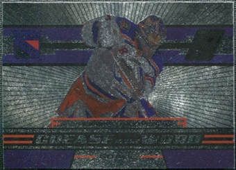 2010/11 Panini Zenith Crease Is The Word #8 Henrik Lundqvist