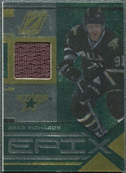 2010/11 Panini Zenith Epix Materials #7 Brad Richards /100