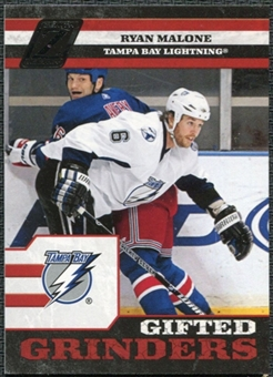 2010/11 Panini Zenith Gifted Grinders #13 Ryan Malone