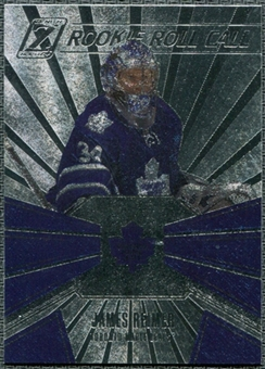 2010/11 Panini Zenith Rookie Roll Call #20 James Reimer