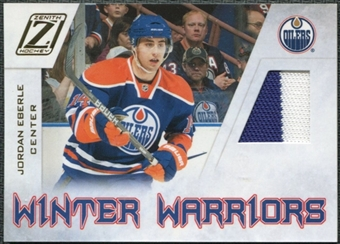2010/11 Panini Zenith Winter Warriors Materials #JE Jordan Eberle