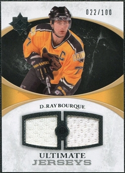 2010/11 Upper Deck Ultimate Collection Ultimate Jerseys #UJRB Ray Bourque /100