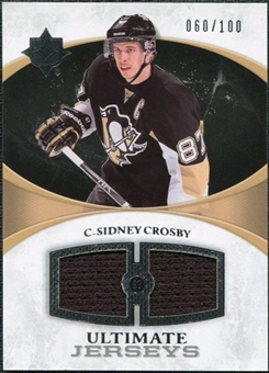 2010/11 Upper Deck Ultimate Collection Ultimate Jerseys #UJSC Sidney Crosby /100